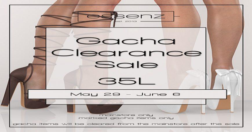 Gacha Clearance Sale at Essenz