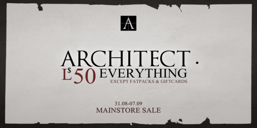 Architect. 50L Sale