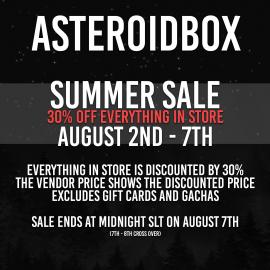AsteroidBox Sale