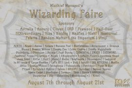 Wizarding Faire 2021