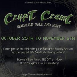Crypt Crawl – Sidewalk Sale & Hunt