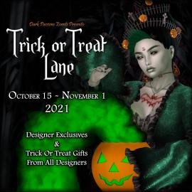 Trick Or Treat Lane – 2021 – Square